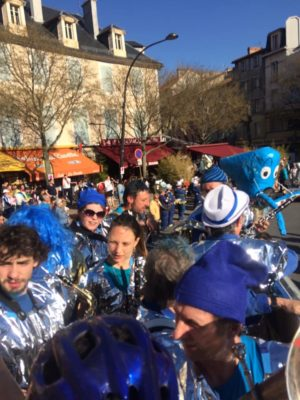 Fanfare la Bérézina au carnavl de Millau 2019