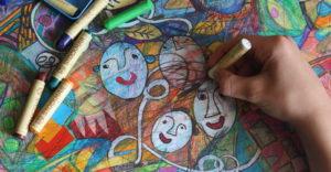 dessin au crayon cire